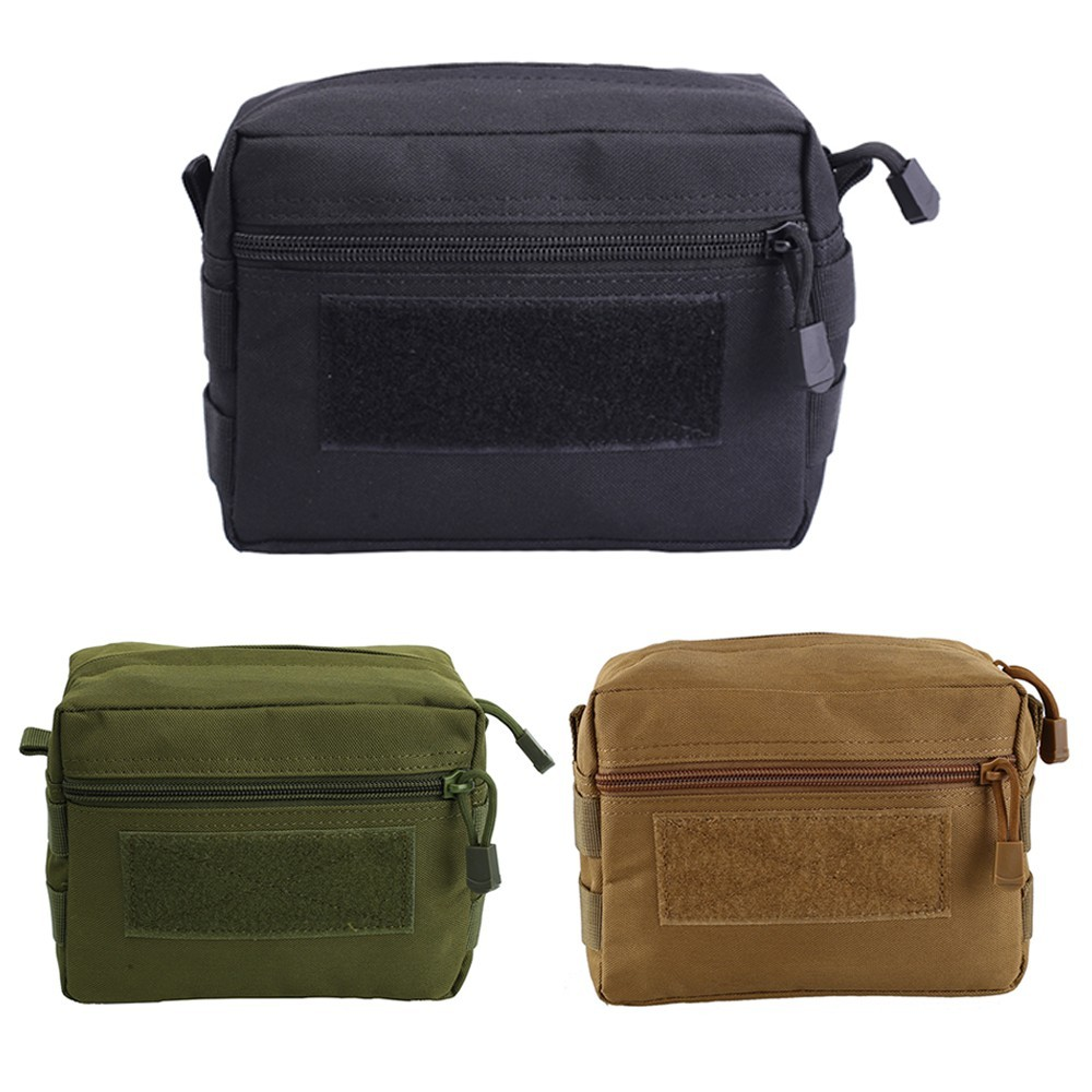 Tactical Molle Pouch 1000D Outdoor Military Hunting Belt Pouch Waist Pack EDC Kit Bag Durable Medical Bag Utility Accessory Bag