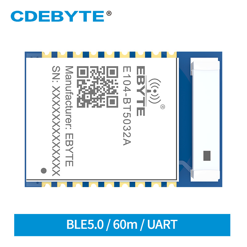 Bluetooth Module NRF52832 Serial To BLE E104-BT5032A SMD Ceramic Antenna 4dbm BLE5.0 Wireless Transceiver Module