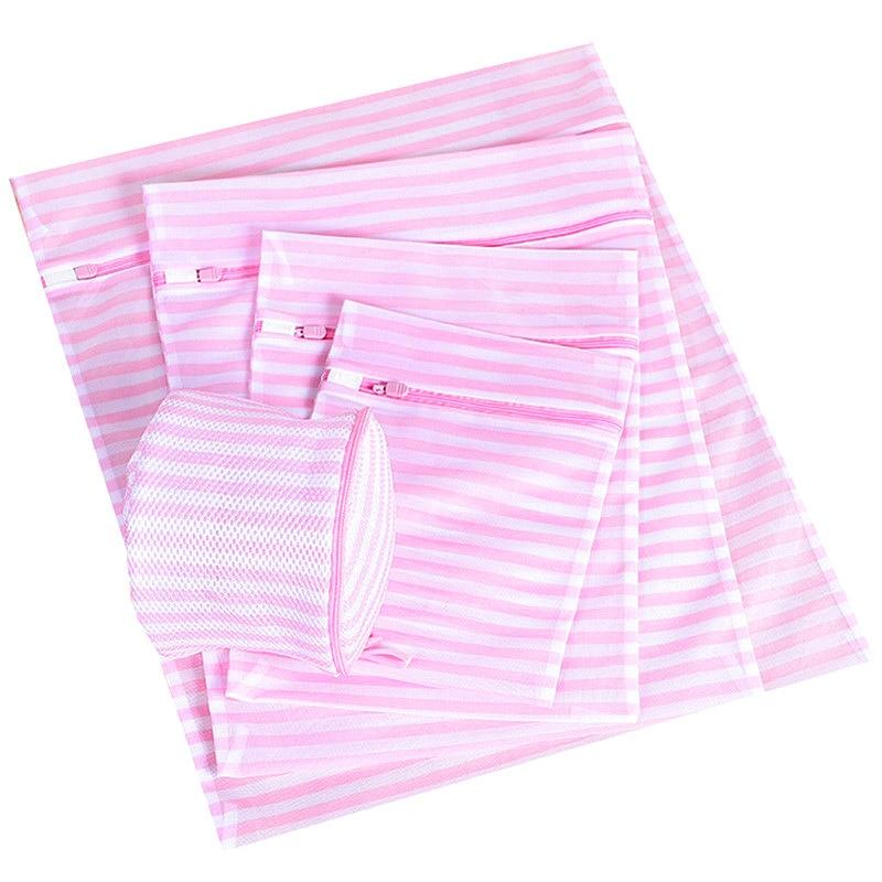 Laundry Bag For Washing Bra Socks Polyester Mesh Lingerie Wash Bag Underwear Organizer Delicate Clothes Dress Bra Washing Bags