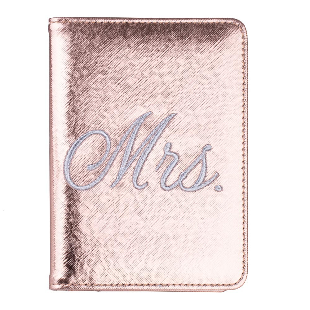New Lovers Style MR MRS RFID Blocking Passport Cover Wallet Unisex Leather Credit Card Holder Travel Passport Protection Case