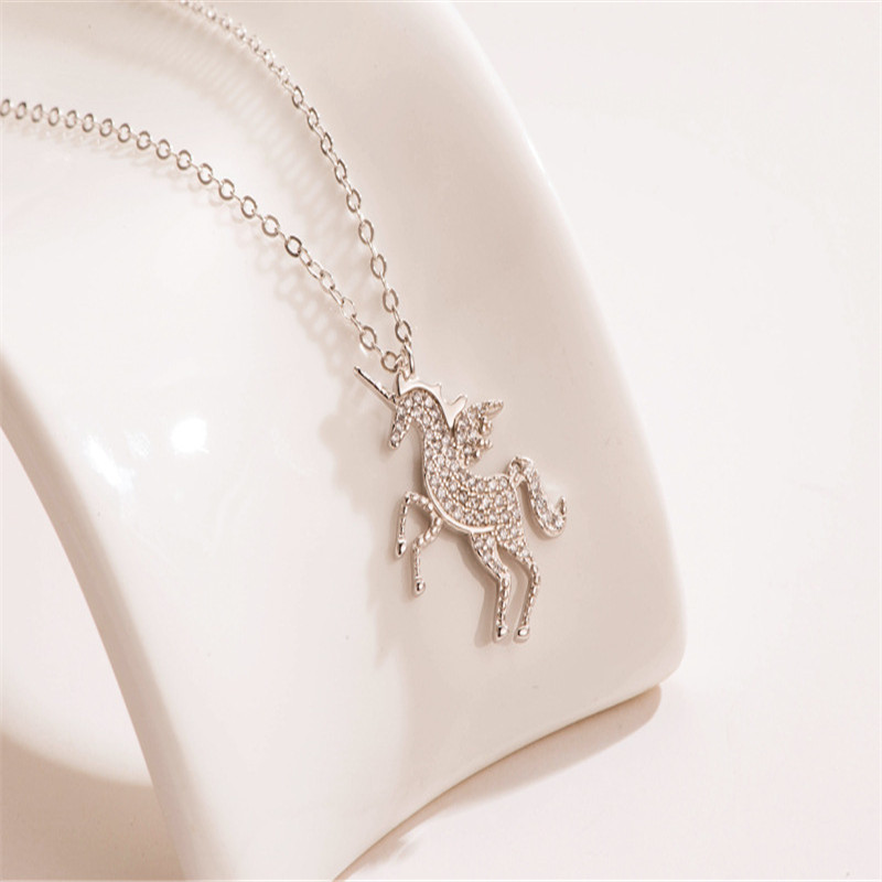 925 sterling silver pendant necklace animal Set auger Student couples fashion jewelry wholesale