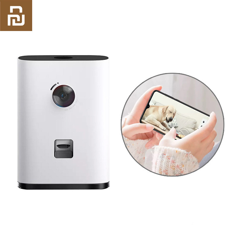 Youpin Pawbby HD 1080P WIFI Smart Pet Feeder Multi Purpose Snack Machine Camera Interaction Two-Way Intercom For Dog Cat