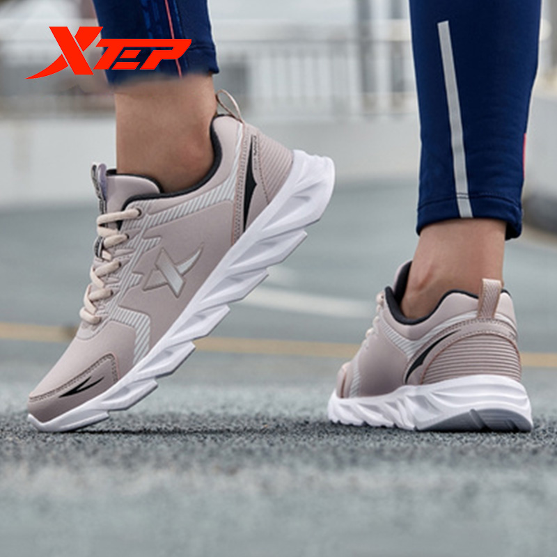 Xtep BLADE women's running shoes female 2019 autumn new waterproof student sports sneakers shoes 881318119258