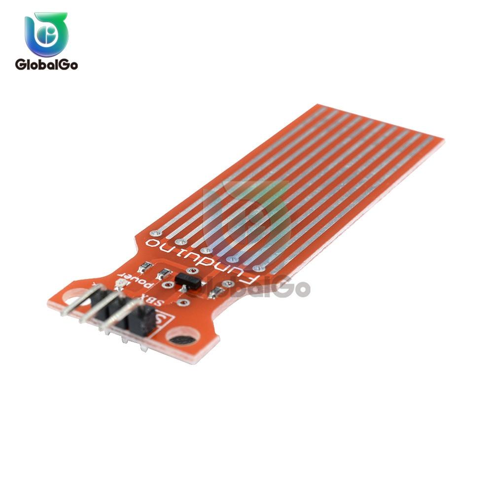Rain Water Level Sensor Controller Module Water Tank Liquid Surface Depth Height Sensor Detection For Arduino DC 3V-5V 20mA
