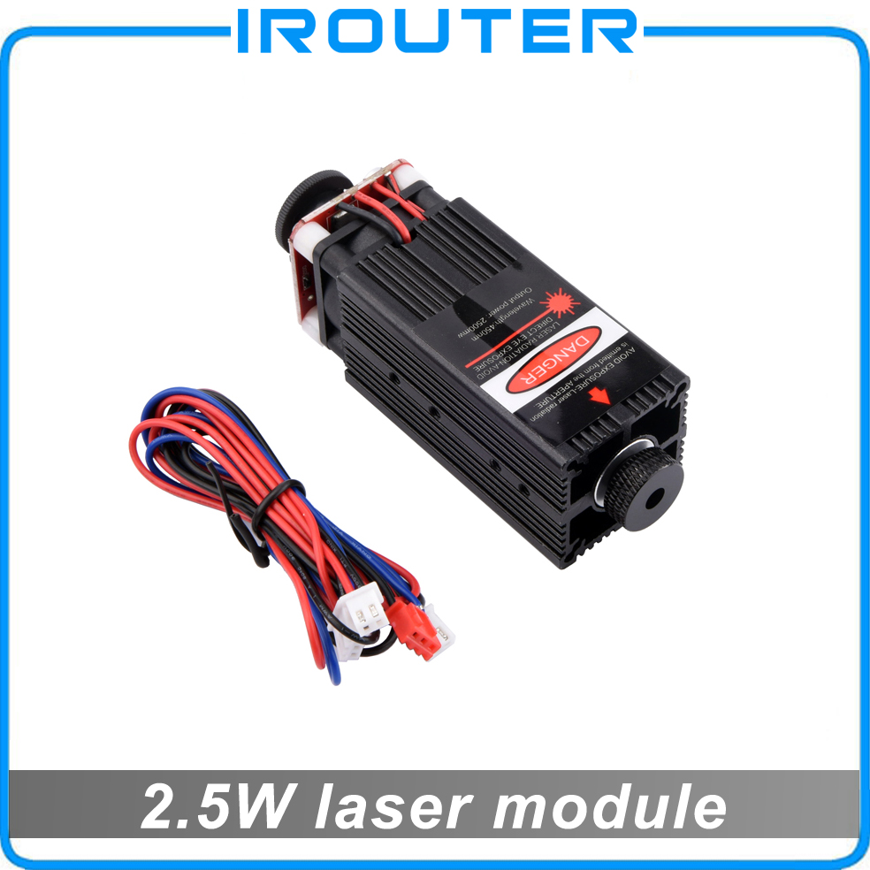 2.5W Blue Light <font><b>Laser</b></font> Module <font><b>diode</b></font> for <font><b>Laser</b></font> cnc Engraving Machine High-power <font><b>450nm</b></font> Focusable Power supply , 2500mw <font><b>laser</b></font> module image