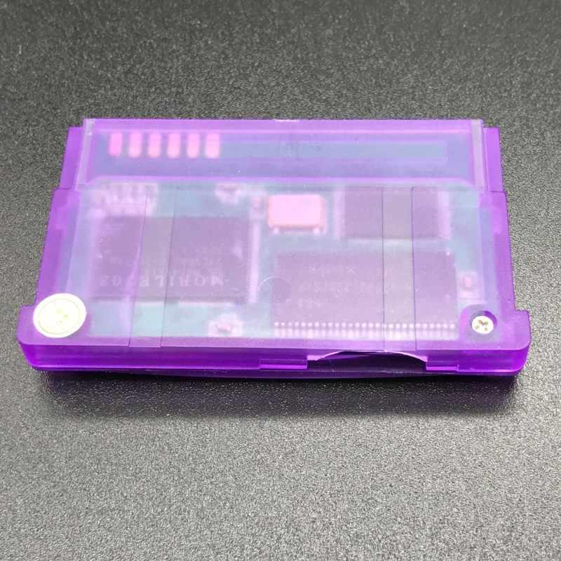 Nouvelle Version prise en charge de la carte TF pour la cartouche de jeu GameBoy Advance pour GBA/GBM/IDS/NDS/NDSL