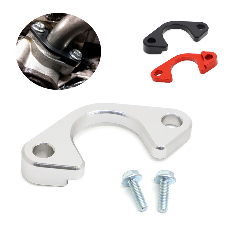 Parts Aluminum LS Oil Pump Girdle Pickup Tube Pipe Hold Down Brace For LS1 LS3 LS2 Engine