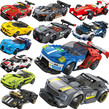 2020 NEW Technic serise Supercar Speed Champion Vehicles Race Racing Car Sports Truck Building Blocks Bricks Sets Kits Model