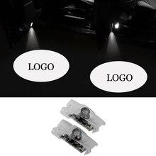 2PCS Interior Light Accessories Car Door For Lexus CIR Logo Projector Welcome IS ES LS LX RX GS GX RC