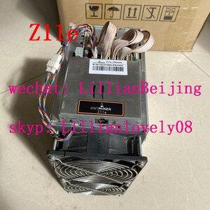 used AntMiner Z11e 70k miner Equihash miner Zcash ZEC BTG mining machine from bitmain Z11e 70ksol/s