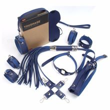 10 Pcs Bdsm Bondage Set Sex Toys For Couples Exotic Accessories Sexy Leather Handcuffs Whip Breast Belt Adult Products Navy products sexshop 3 pcs set male chastity belt sexy sex toys bdsm bondage restraint set sextoys adult sex game tools for couples