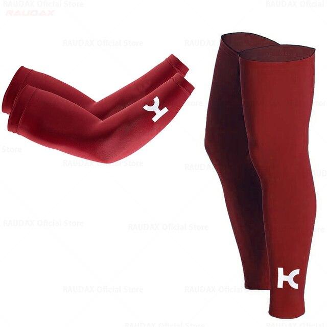 20201 passo rápido aquecedores de perna preto proteção uv ciclismo braço mais quente respirável bicicleta corrida mtb perna manga 2