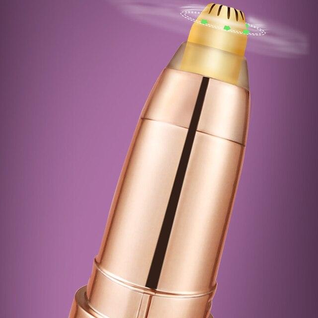 Eyebrow Epilator Maquiagem Profissional Completa Trymer Do Brwi Eye Brow Trimmer For Rasoir Visage Femme Make