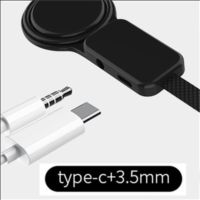 Type-C To Type C 3.5mm Aux Jack Charging Audio Adapter 2 In 1 Splitter Adapter For Samsung S10 Plus Huawei P30 Xiaomi Mi 8 6 5X