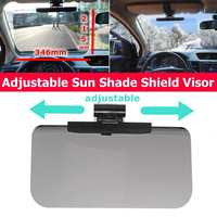 346x215mm Auto Nachtsicht Schild Brille Sonnenschirm Einstellbare Bord Windschutzscheibe sonnenschutz Brille Auto sonnenblende|Sonnenblenden|Kraftfahrzeuge und Motorräder -