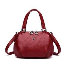 2018 Luxury Handbags Women Bags Designer High Quality Leather Brand Famous Crossbody Bags For Women Messenger Bags Red Sac V