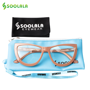 Image 3 - SOOLALA Spring Hinge Oversized Cat Eye Reading Glasses Womens Eyeglasses Frame Presbyopic Reading Glasses 0.5 0.75 1.0 to 5.0