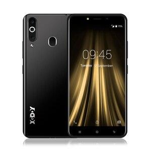 "Image 3 - XGODY 4G huella dactilar teléfono móvil 2GB 16GB Android 6,0 Smartphone Dual Sim 5,5 ""18:9 MTK6737 Quad Core 5MP GPS teléfono móvil K20 Pro"