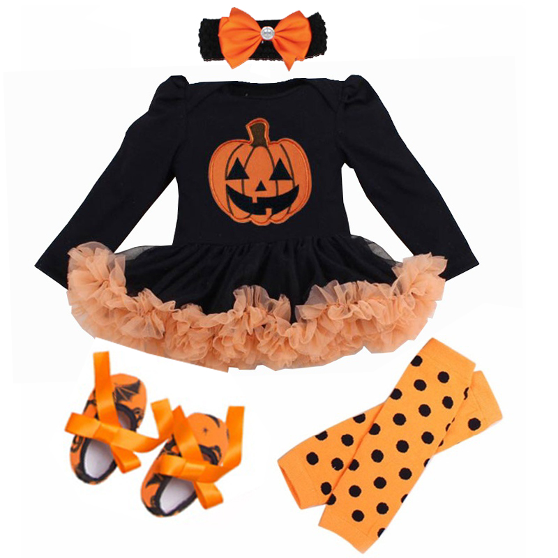 New Baby Girls Princess Costume Short Sleeve Tuxedo Romper 4pcs Suits Kids Toddlers Halloween Cosplay Birthday Theme Party Dress 1