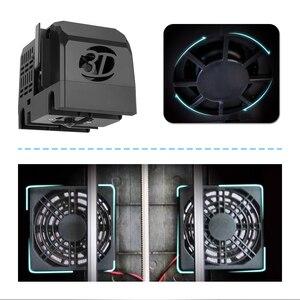 Image 4 - QIDI TECH 3D STAMPANTE X  maker riscaldata letto estraibile wifi Con ABS E PLA TPU 170 millimetri * 150mm * 160 millimetri di stampa facesheil