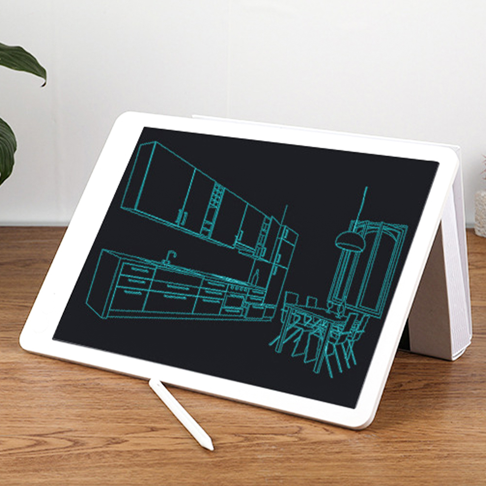 13.5 inch LCD handwriting board lcd light energy electronic drawing board highlighting thick handwriting kids drawing board