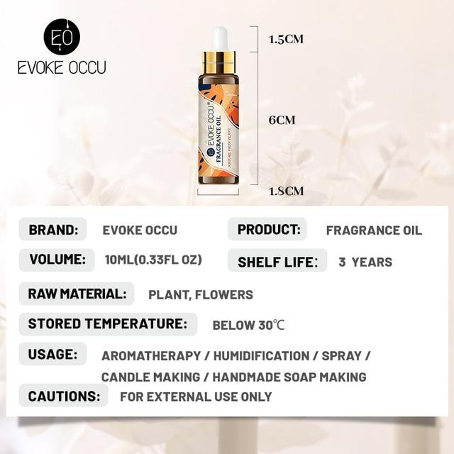 Black Opium Coconut Vanilla Fragrance Oil 10ML with Dropper Perfume Diffuser Essential Oil Angel Jadore Musk Chocolate Milk Oil 3