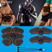 цена Home Gym Abdominal Muscle Stimulator Total ABS Fitness Equipment Training Gear Muscles Press Simulator Muscle Training Apparatus онлайн в 2017 году