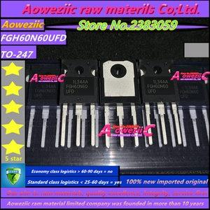 Image 4 - Aoweziic  2020+ 10 PCS 100% new imported original 60N60 FGH60N60  FGH60N60SFD  FGH60N60SMD FGH60N60UFD TO 247 IGBT tube 60A 600V
