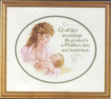 higher quality Counted Cross Stitch Kit Mother's Love and Tenderness Lasting Love Forever Mother and Baby Infant dim 13723(China)