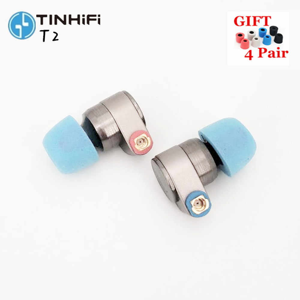 TIN Audio T2 Earphones dual dynamic drive HIFI bass earphone DJ metal earplug earphone with MMCX earphones TIN p1 t3 N1 S2 T2 S7