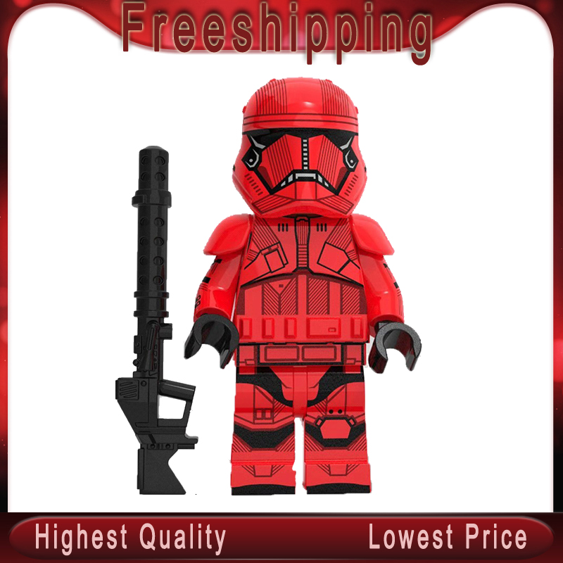 XP265 Legoingly MiniFIGurined Stars Wars Cloned Storms Orders Guard Troopers Military Building Blocks Bricks Toys For Children
