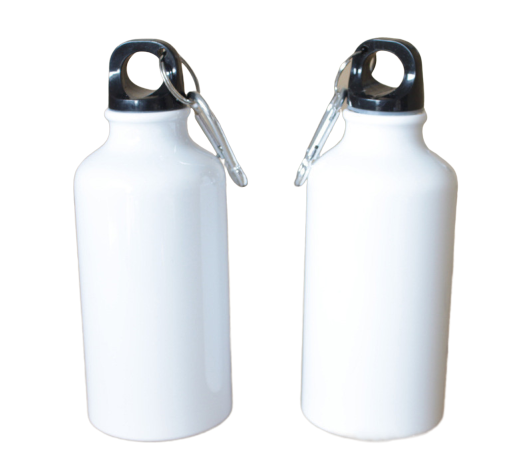 10pcs With No Print Sublimation Blanks Water Bottles 600ml Single Cover Aluminum Kettle AS001