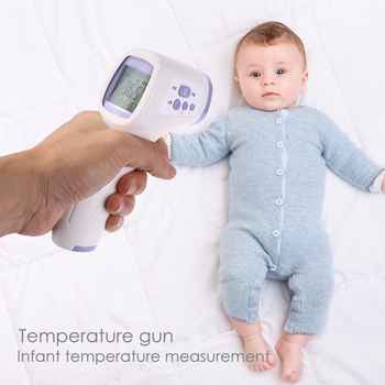 Non-Contact Digital Infrared Thermometer Body Forehead Pyrometer Baby/Adult IR Temperature Gun LCD Temperature Measurement