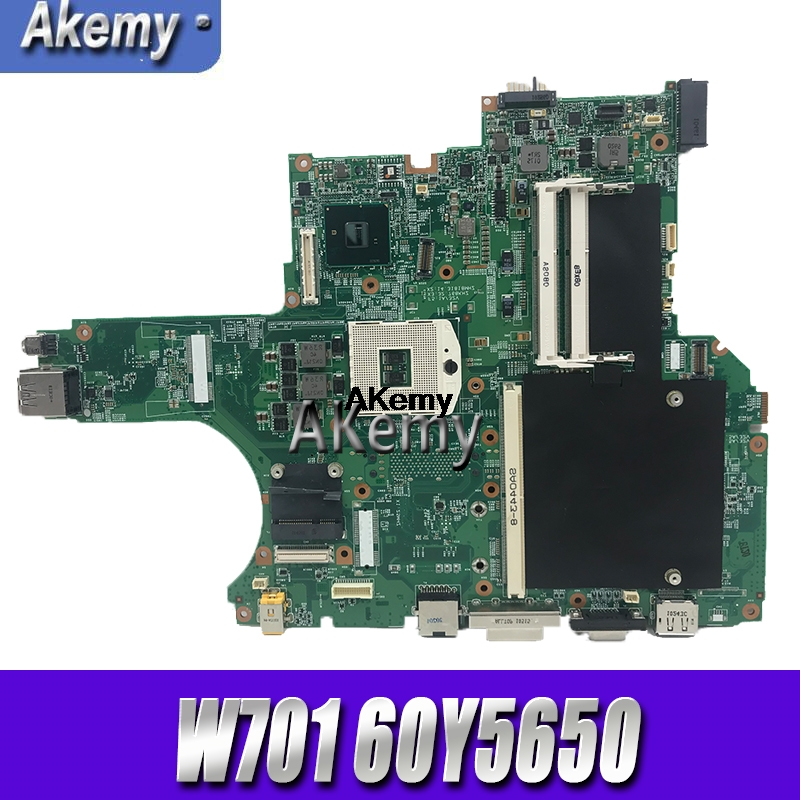 60Y5650 for Lenovo W701 W701ds notebook motherboard 4 DDR3 motherboard 100% test ok delivery