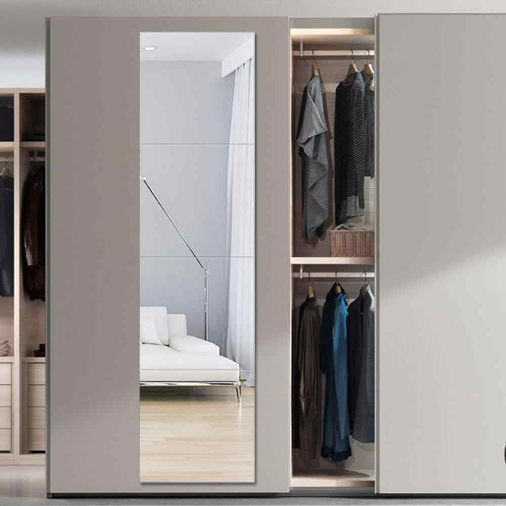 Dressing Mirror Bedroom Full Length Clothing Store Large Fitting Mirror Home Mobile Floor Simple Dressing Mirror Wx8241341 Bath Mirrors Aliexpress