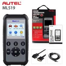 Autel ML629 Scanner de code de voiture, outils de Diagnostic automatique, ABS/SRS, prise OBD2