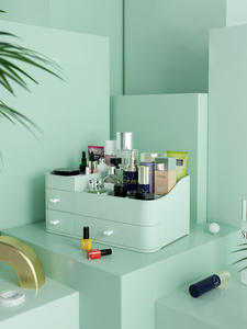 Lipstick Makeup-Storage-Box Cosmetic Dressing-Table Beauty-Case Bathroom Large-Capacity