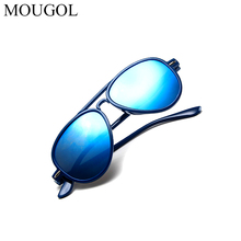 MOUGOL children ultra light sunglasses fashion rice nail sunglasses baby cute colorful glasses personality aviator sunglasses