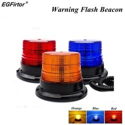 Warnung Flash-Beacon Notfall Anzeige LED Lampe Auto Rotierenden Traffice Sicherheit Licht Magnet Decke Box Flash Strobe