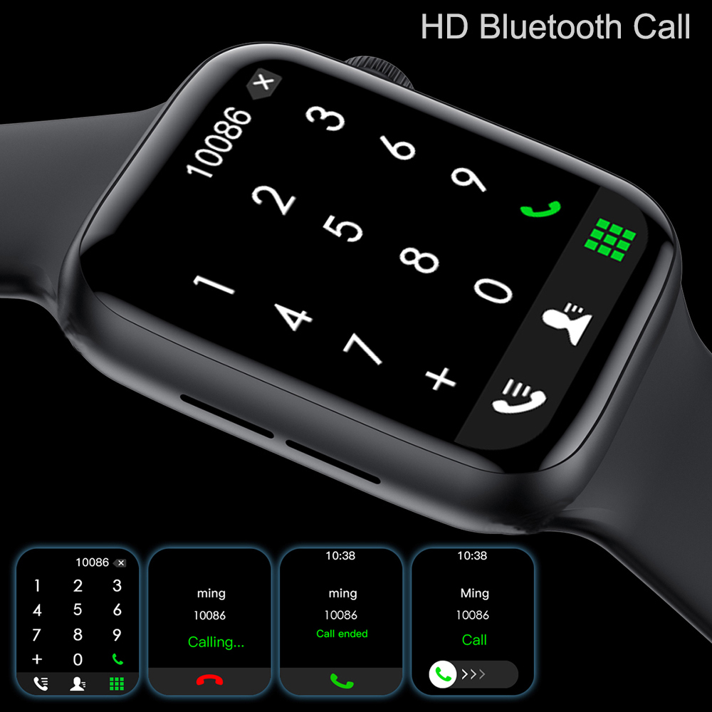 CHYCET 2021 IWO Smart Watch Men Women HW22 Plus Blood Pressure Monitor...