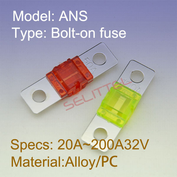 ANS-H  Auto Fuse holder with ANS Fuse /Bolt-on fuseholder 0498900