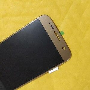 Image 2 - Samsung Galaxy S7 G930 G930F TFT LCD ekran dokunmatik ekran Digitizer meclisi TFT LCD ayarlanabilir parlaklık yedek parça