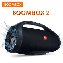 Boombox 2 Portable Bluetooth Wireless Outdoor Speaker IPX7 Waterproof Loudspeaker Deep Bass Music Box