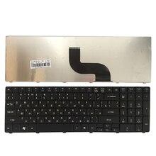 NUOVA Tastiera Russa per Acer PK130C94A00 NSK AUB0R PK130C91104 V104702AS3 MP 09B23SU 6983 PK130C91100 Del Computer Portatile RU Nero