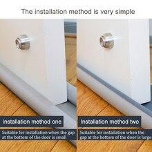 95CM Flexible door insulation Bottom Sealing Strip Guard Sealer Stopper Door Weatherstrip Guard Wind Dust Blocker Sealer Stopper