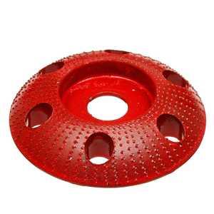 Image 5 - 110mm carboneto de tungstênio madeira moldar disco de escultura redonda com furo 22mm furo roda moedor lixar para 115 125 ângulo moedor