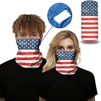 Windproof bandana hiking scarves m