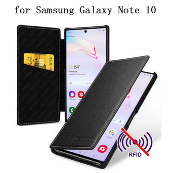 For Samsung Galaxy Note 10 Plus Case Wallet Case with Card Slots for Samsung Galaxy Note10 Note 10 Fundas Skin Flip Bag Shell