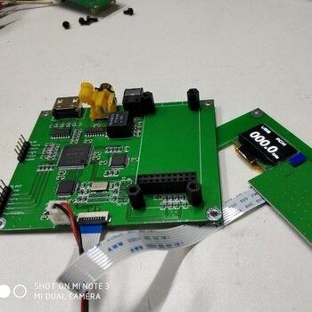 Interfejs cyfrowy XMOS częstotliwość próbkowania wyświetlacz AK4118 przełącznik SPDIF I2S