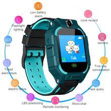 Детские умные мини-часы с защитой от потери, водонепроницаемые, LSB, трекер позиционирования, SIM-звонок